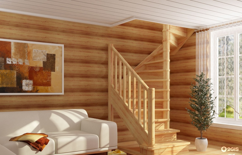 Лестница для дома своими руками фото