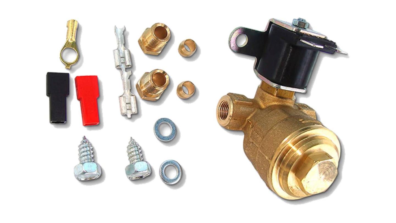газовое оборудование электромагнитный клапан