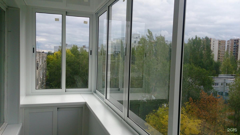 Остекление балконов фото своими руками
