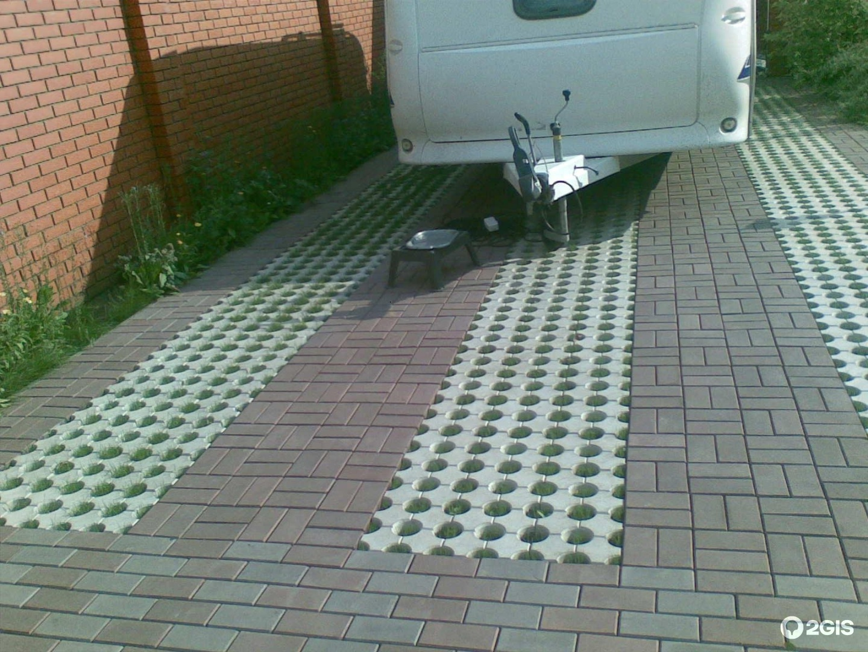 Как правильно сделать площадку под парковку