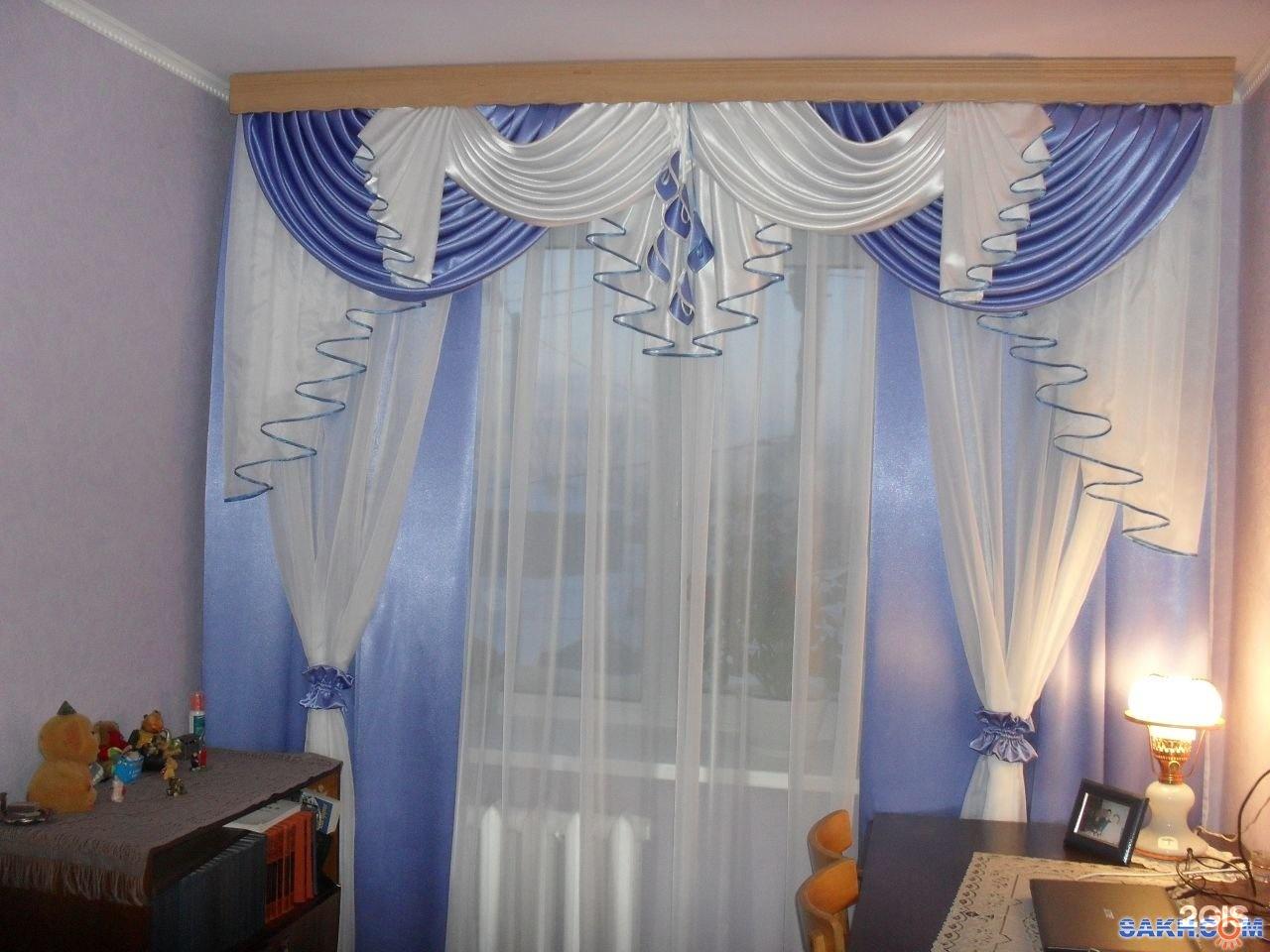 Пошив штор в зал своими руками выкройки