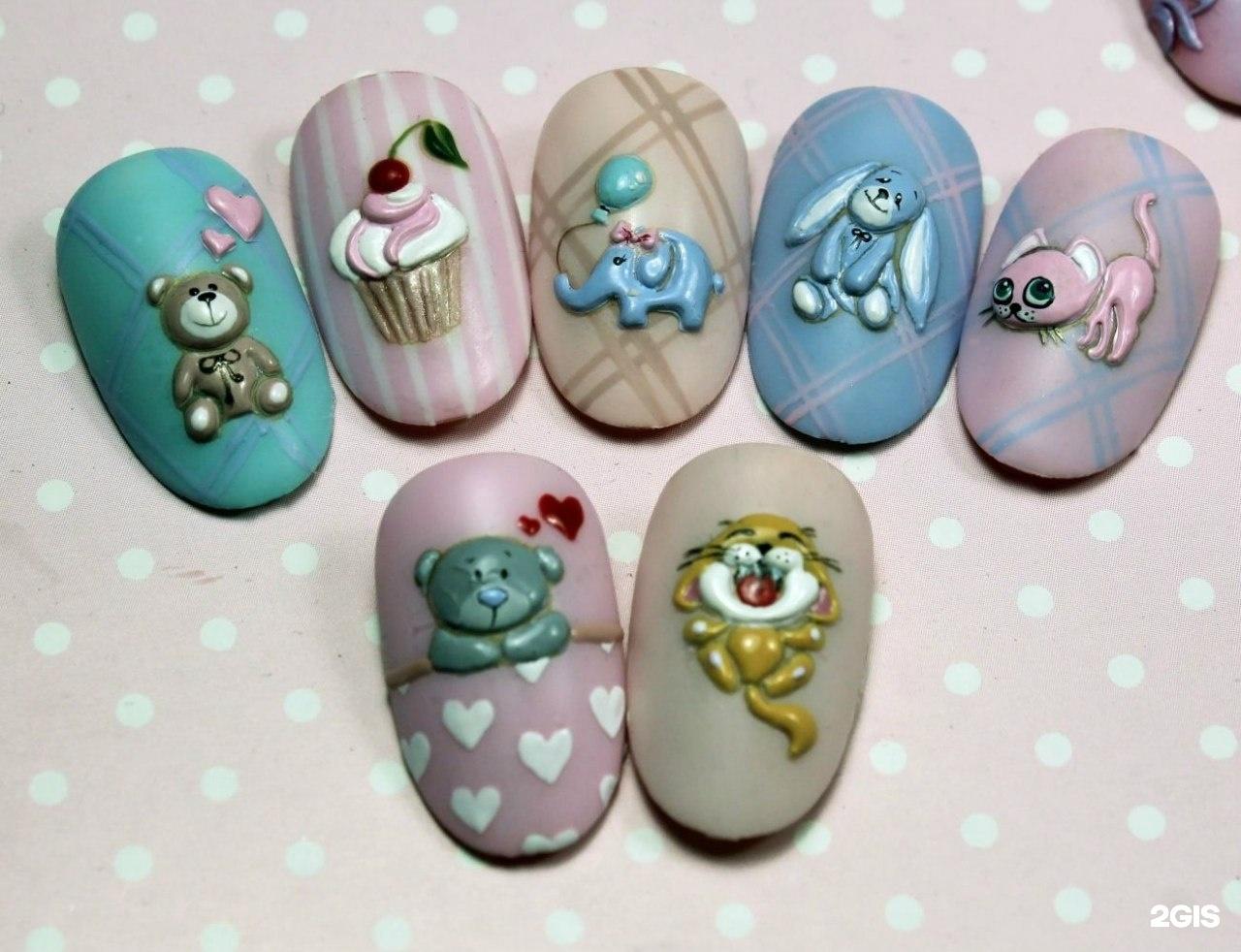 Екатерина мирошниченко фото ногтей