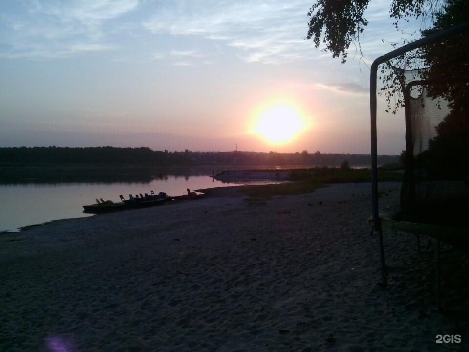 Пляж ростовское море 84