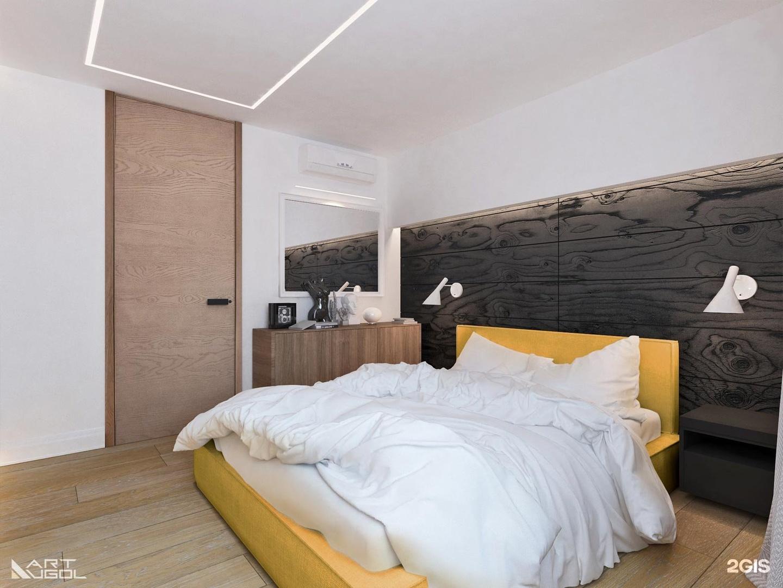 Спальня в стиле скандинавский - фото и дизайн на vivbo.ru.