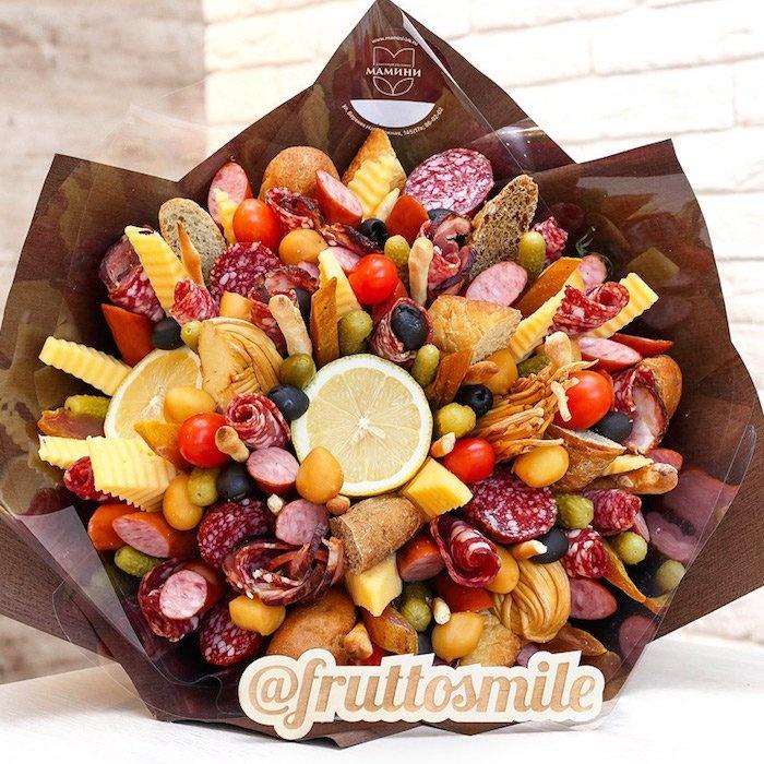 Съедобные букеты иркутск, стол невесты цветов