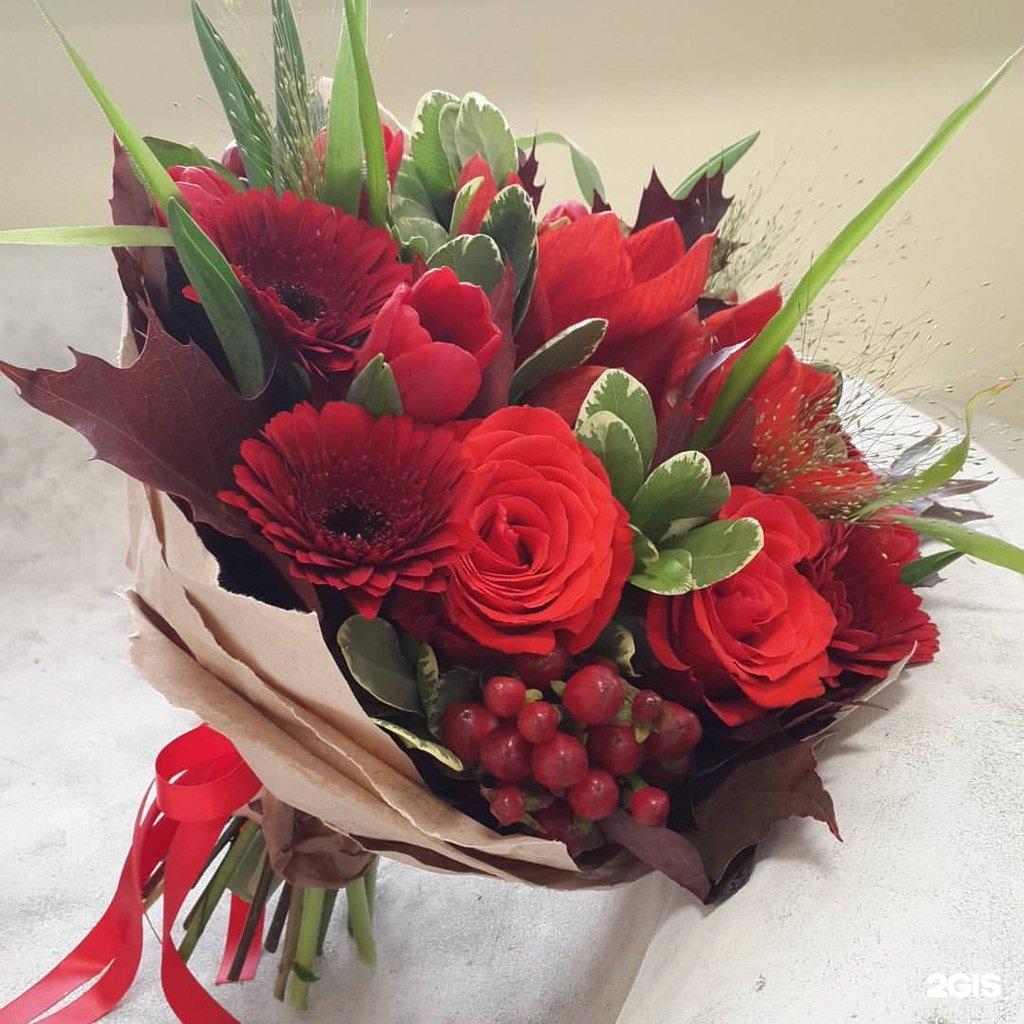 Цветы, бизнес букет