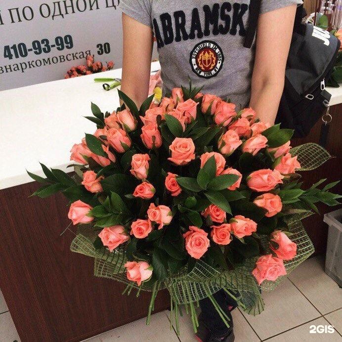 Букет цветов, магазин цветов 10 роз за 250
