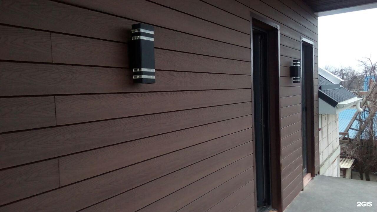 планкен из дпк для фасадной отделки зданий
