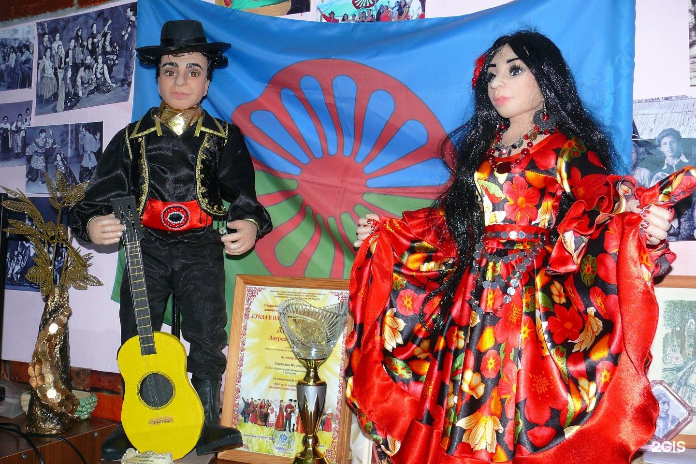 Домашнее фото костромских цыган