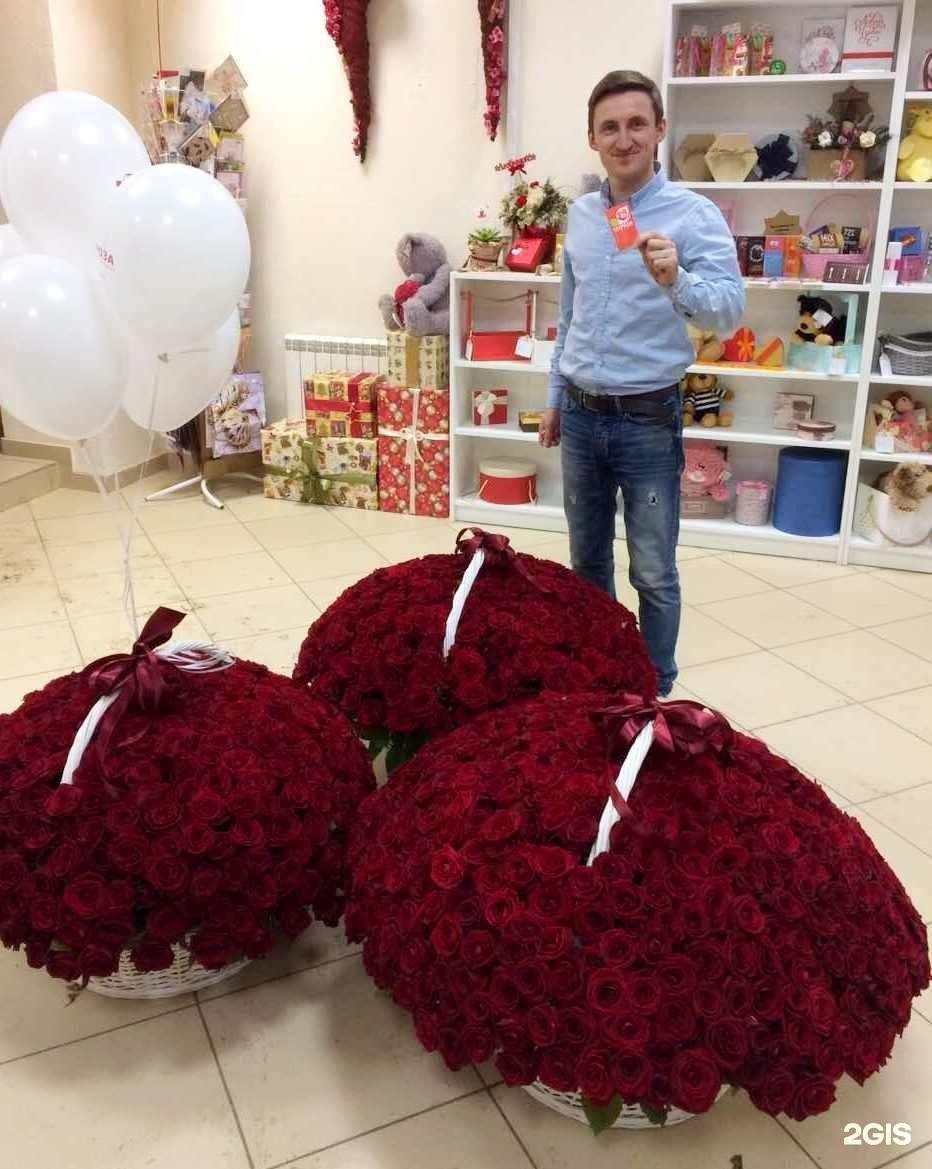 Цветов, доставка роз в саратове