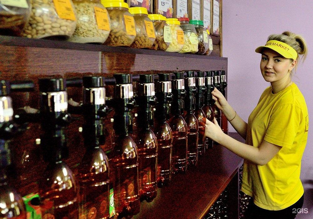 розничный магазин разливных напитков выгодно